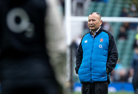 Eddie Jones head coach of England during the Guinness Six Nations match between England and Italy at Twickenham Stadium on March 9th, 2019 in London, United Kingdom. Photo by Liam McAvoy.