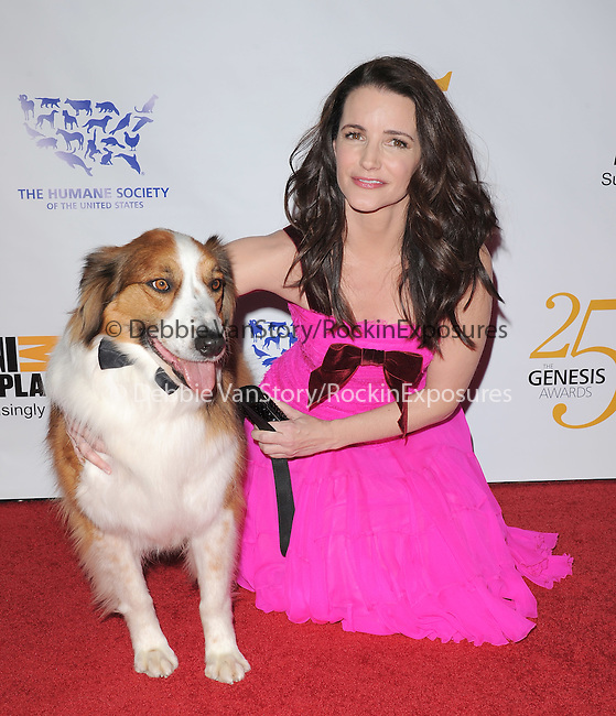 Kristin Davis at The Humane Society of The United States celebration of The 25th Anniversary Genesis Awards in Beverly Hills, California on March 19,2011                                                                               © 2010 Hollywood Press Agency