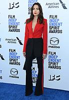 08 February 2020 - Santa Monica - Aubrey Plaza. 2020 Film Independent Spirit Awards - Arrivals held at Santa Monica Pier. Photo Credit: Birdie Thompson/AdMedia