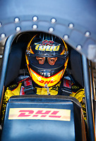 Mar 18, 2017; Gainesville , FL, USA; NHRA funny car driver J.R. Todd during qualifying for the Gatornationals at Gainesville Raceway. Mandatory Credit: Mark J. Rebilas-USA TODAY Sports