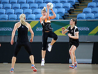 02.09.2016 Silver Ferns Storm Purvis as the Silver Ferns have a walk though during training in Melbourne Australia ahead of their match against Australia. Mandatory Photo Credit ©Michael Bradley.
