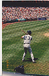 Don Mattingly of The New York Yankees 1991