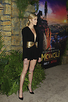 "LOS ANGELES - NOV 28:  Katherine McNamara at the ""Mowgli: Legend of the Jungle"" Premiere at the ArcLight Theater on November 28, 2018 in Los Angeles, CA"
