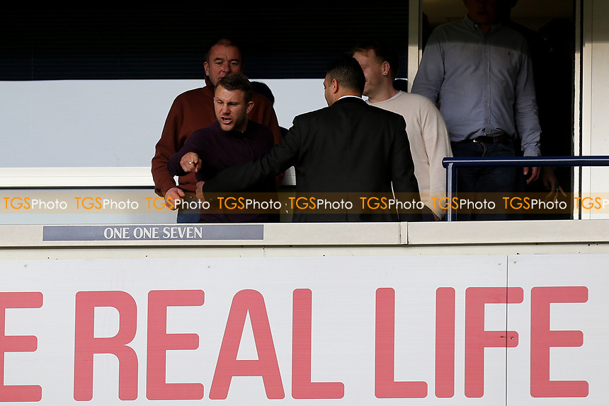 A Millwall fan is ejected from an executive box during Tottenham Hotspur vs Millwall, Emirates FA Cup Football at White Hart Lane on 12th March 2017