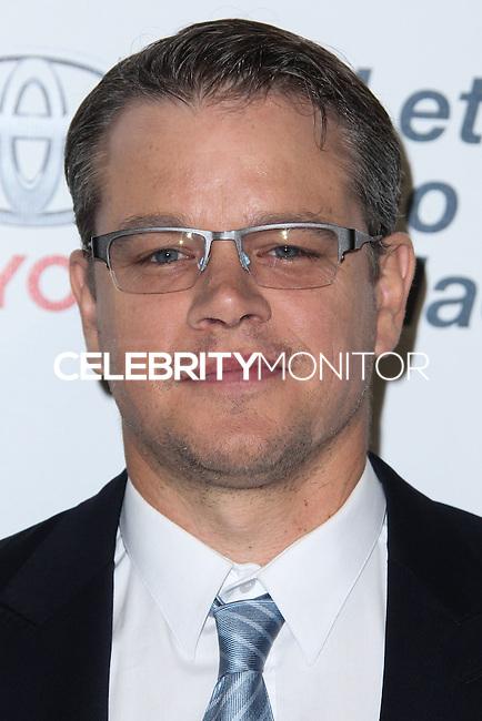 BURBANK, CA - OCTOBER 19: Matt Damon at the 23rd Annual Environmental Media Awards held at Warner Bros. Studios on October 19, 2013 in Burbank, California. (Photo by Xavier Collin/Celebrity Monitor)