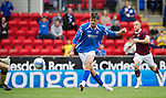 St Johnstone v Hearts...25.09.11   SPL Week 9.Cillian Sherdian scores for St Johnstone.Picture by Graeme Hart..Copyright Perthshire Picture Agency.Tel: 01738 623350  Mobile: 07990 594431