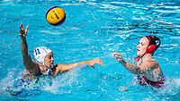 COTTI Aleksandra ITA, WRIGHT Emma CAN<br /> ITA (white cap) -  CAN (blue cap)<br /> Water Polo<br /> Day03  16/07/2017 <br /> XVII FINA World Championships Aquatics<br /> Alfred Hajos Complex Margaret Island  <br /> Budapest Hungary July 15th - 30th 2017 <br /> Photo @ Deepbluemedia/Insidefoto