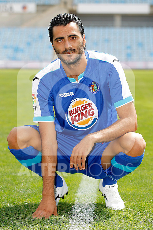 Getafe's new player Daniel Gonzalez Guiza during his official presentation. August 22, 2011. (ALTERPHOTOS/Acero)