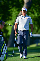 Si Woo Kim (KOR) prepares to putt on 10 during the round 1 of the Dean &amp; Deluca Invitational, at The Colonial, Ft. Worth, Texas, USA. 5/25/2017.<br /> Picture: Golffile | Ken Murray<br /> <br /> <br /> All photo usage must carry mandatory copyright credit (&copy; Golffile | Ken Murray)