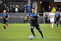 SAN JOSE, CA - MARCH 7: Vako #11 of the San Jose Earthquakes during a game between Minnesota United FC and San Jose Earthquakes at Earthquakes Stadium on March 7, 2020 in San Jose, California.