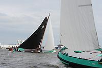 SKUTSJESILEN: LEMMER: Baai van Lemmer, 29-05-2014, Lemmer Ahoy, De Sneker Pan en Lemmer, ©foto Martin de Jong