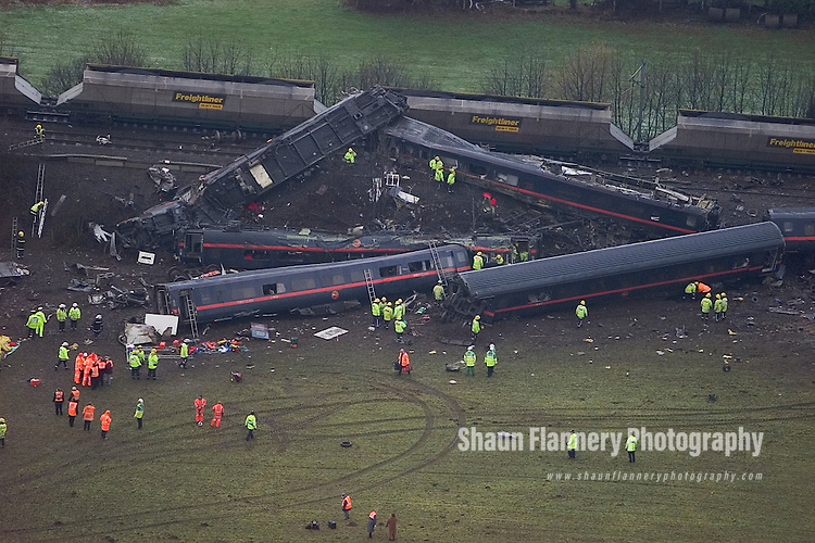 Selby Rail Crash - Great Heck Rail Crash - Fatal Rail ...