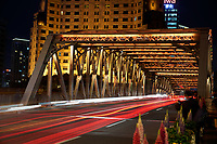 Waibaidu Bridge in Shanghai, China