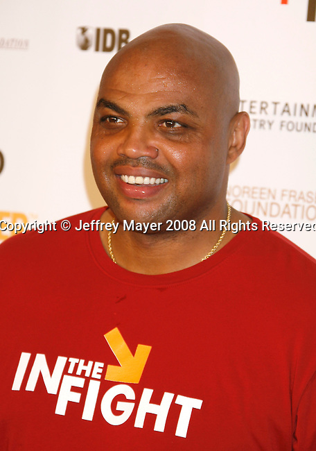HOLLYWOOD, CA. - September 05: Former NBA player Charles Barkley arrives at Stand Up For Cancer at The Kodak Theatre on September 5, 2008 in Hollywood, California.