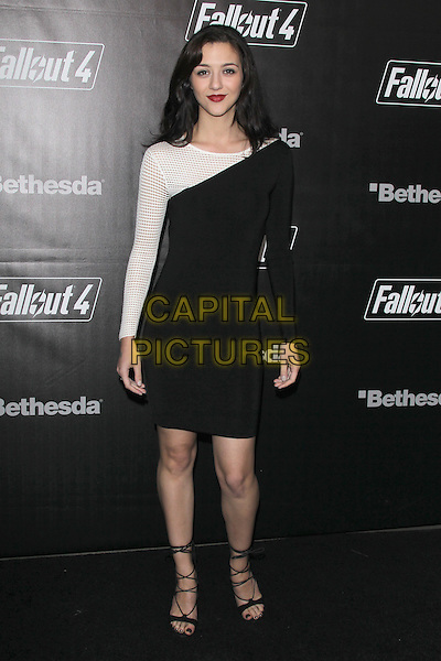 LOS ANGELES, CA - NOVEMBER 5: Katie Findlay at the Fallout 4 video game launch event in downtown Los Angeles on November 5, 2015 in Los Angeles, California. <br /> CAP/MPI21<br /> &copy;MPI21/Capital Pictures