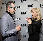 Jon Robin Baitz and Judith Light attends the 2019 DGF Madge Evans And Sidney Kingsley Awards at The Lambs Club on March 18, 2019 in New York City.