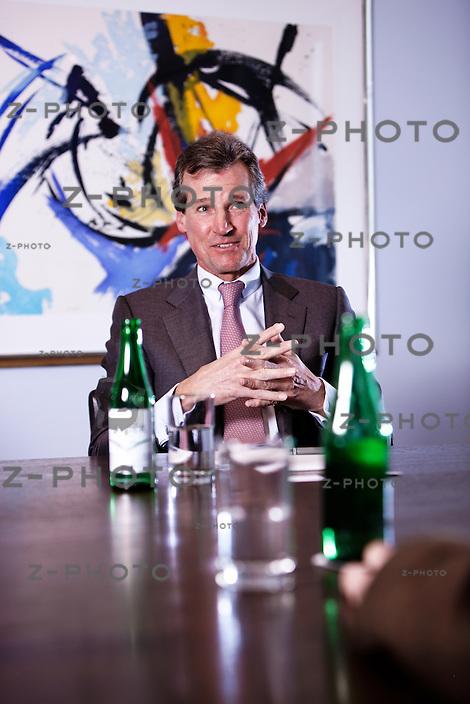 Portrait und Interview mit Anthony Cagiati ist CEO der Metropol Partners im Hauptsitz an der Claridenstrasse 19 in Zuerich, am 17.01.2013..Copyright © Zvonimir Pisonic