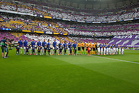 Real Madrid an Juventus teams