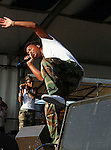 "May 6, 2011 New Orleans, La.: Singer / Musician Lupe Fiasco performs ""2011 New Orleans Jazz & Heritage Festival"" on May 6, 2011 in New Orleans, La."