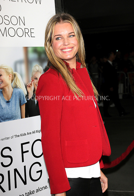 WWW.ACEPIXS.COM<br /> <br /> US Sales Only<br /> <br /> September 16 2013, LA<br /> <br /> Rebecca Romijn at the premiere of 'Thanks For Sharing' held at the ArcLight Cinemas on September 16 2013 in Los Angeles<br /> <br /> By Line: Famous/ACE Pictures<br /> <br /> <br /> ACE Pictures, Inc.<br /> tel: 646 769 0430<br /> Email: info@acepixs.com<br /> www.acepixs.com