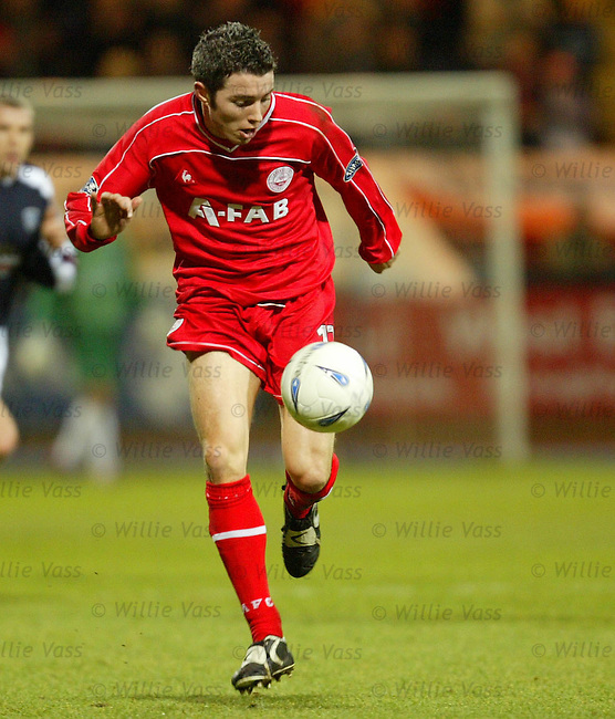Kevin McNaughton, Aberdeen.pic willie vass