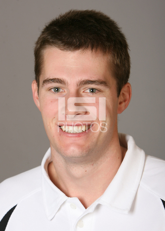 STANFORD, CA - NOVEMBER 12:  Cameron Christoffers of the Stanford Cardinal men's volleyball team poses for a headshot on November 12, 2008 in Stanford, California.