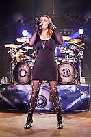 ROYAL OAK, MI - SEPTEMBER 23: Nightwish in concert at the Royal Oak Muis Theatre in Royal Oak, Michigan. September 23, 2012. © Joe Gall/MediaPunch Inc. /NortePhoto<br /> <br /> **Solo*venta*en*Mexico*<br /> <br /> **CREDITO*OBLIGATORIO** *No*Venta*A*Terceros*<br /> *No*Sale*So*third*...