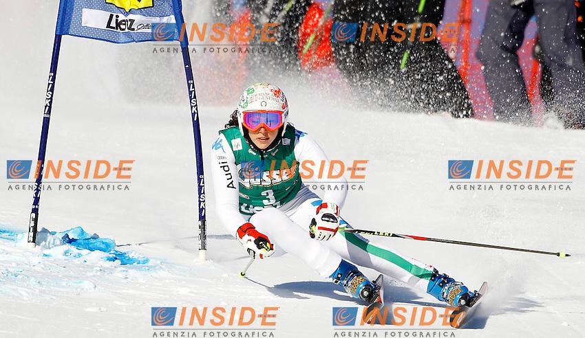 Federica Brignone Italia.28.12.2011, Hochstein, Lienz, AUSTRIA.Sci Slalom Gigante Donne Coppa del Mondo .foto Insidefoto / EXPA / M. Gruber