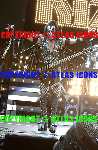 Gene Simmons, Bass Player of, Kiss Performs Performs At Madison Square Garden, In New York City, On .November 17, 2003.Photo Credit: Eddie Malluk/Atlas Icons.com