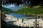 Headpond at Brilliant Dam, Castlegar, British Columbia