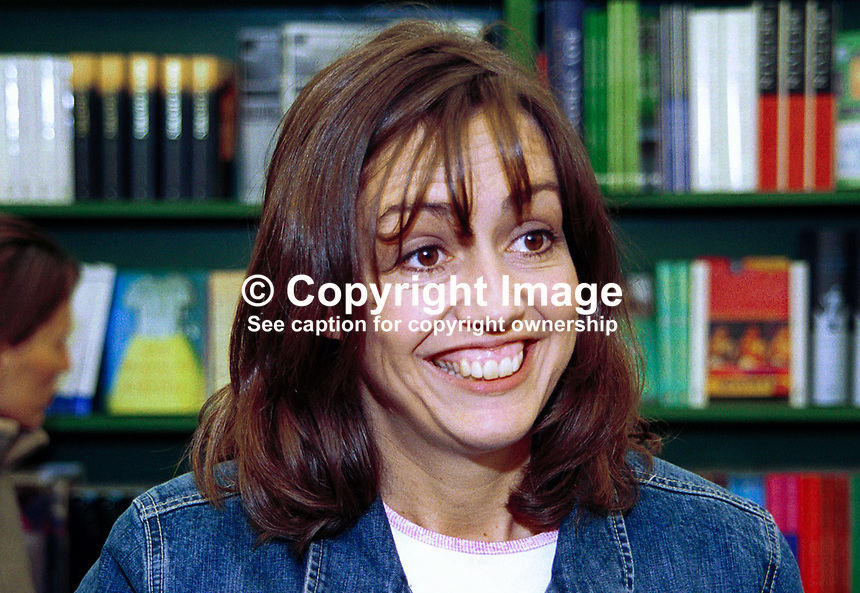 Amy Jenkins, author, novelist, screenwriter, This LIfe, Honeymoon and Elephant Juice. Born London, UK. Taken at or during Hay Festival. Daughter of the late political journalist Peter Jenkins and stepdaughter of Guardian  columnist and author Polly Toynbee. 200005032..Copyright Image from Victor Patterson, 54 Dorchester Park, Belfast, UK, BT9 6RJ..Tel: +44 28 9066 1296.Mob: +44 7802 353836.Voicemail +44 20 8816 7153.Skype: victorpattersonbelfast.Email: victorpatterson@mac.com.Email: victorpatterson@ireland.com (back-up)..IMPORTANT: If you wish to use this image or any other of my images please go to www.victorpatterson.com and click on the Terms & Conditions. Then contact me by email or phone with the reference number(s) of the image(s) concerned.
