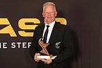 NELSON, NEW ZEALAND - NOVEMBER 21:Mason Robinson Master Sports Person ASB Sports Awards 2019 Thursday 21 November 2019 at Victory, New Zealand. (Photo by Evan Barnes/Shuttersport Limited)