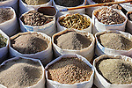 Spices and herbs at the market in Ouarzazate, Morocco.