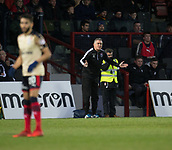 2nd December 2017, Global Energy Stadium, Dingwall, Scotland; Scottish Premiership football, Ross County versus Dundee; Ross County boss Owen Coyle
