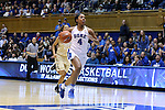 29 January 2017: Duke's Lexie Brown (4). The Duke University Blue Devils hosted the Old Dominion University Monarchs at Cameron Indoor Stadium in Durham, North Carolina in a 2016-17 Division I Women's Basketball game. Duke won the game 71-43.