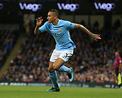 3rd December 2017, Etihad Stadium, Manchester, England; EPL Premier League football, Manchester City versus West Ham United; Danilo of Manchester City