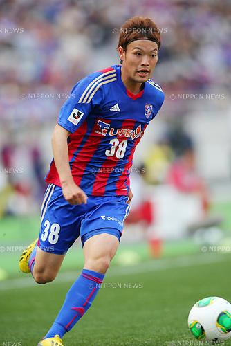 Keigo Higashi (FC Tokyo), MARCH 9, 2013 - Football / Soccer : 2013 J.LEAGUE Division 1 match between FC Tokyo 3-0 Kashiwa Reysol at Ajinomoto Stadium, Tokyo, Japan. (Photo by AFLO SPORT) [1156].