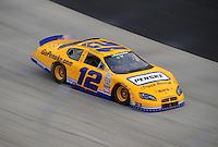 May 31, 2008; Dover, DE, USA; Nascar Nationwide Series driver Sam Hornish Jr during the Heluva Good 200 at the Dover International Speedway. Mandatory Credit: Mark J. Rebilas-