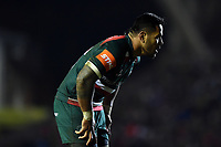Manu Tuilagi of Leicester Tigers looks on. European Rugby Champions Cup match, between Leicester Tigers and Munster Rugby on December 17, 2017 at Welford Road in Leicester, England. Photo by: Patrick Khachfe / JMP