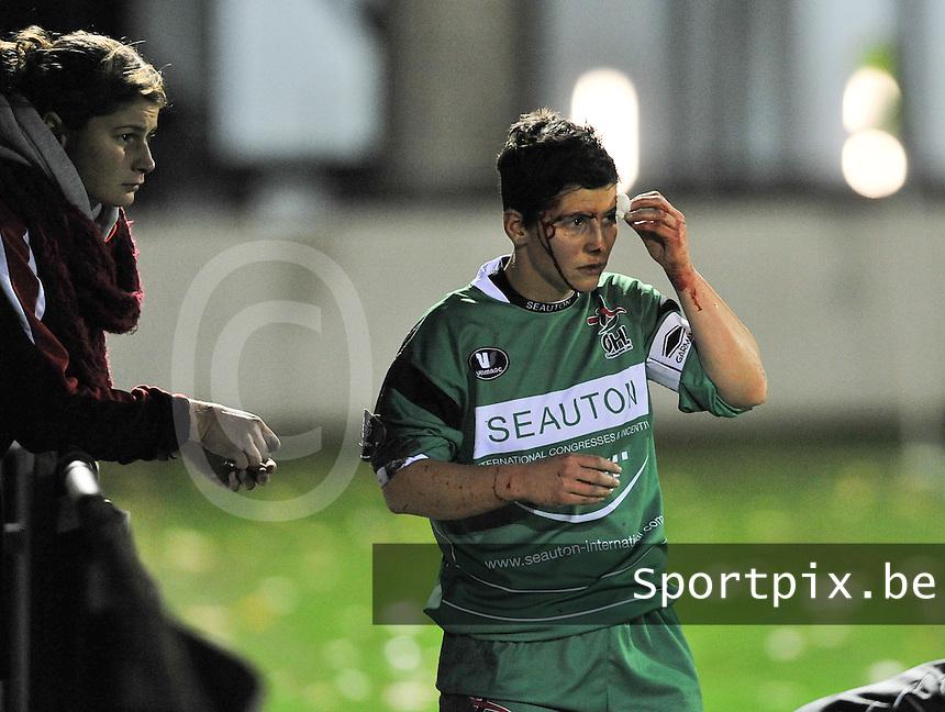 Club Brugge Vrouwen - OHL Dames : Kelly Paulus <br /> foto David Catry / nikonpro.be