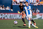 Adrian Marin of Club Deportivo Leganes in action during their La Liga match between Club Deportivo Leganes and Valencia CF at the Butarque Municipal Stadium on 25 September 2016 in Madrid, Spain. Photo by Diego Gonzalez Souto / Power Sport Images