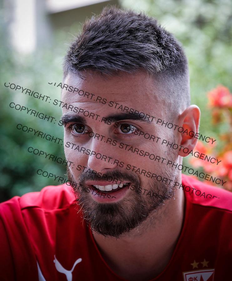 Fudbal Super League season 2016-2017<br /> Damien Le Tallec interview<br /> Beograd, 14.09.2016.<br /> foto: Srdjan Stevanovic/Starsportphoto&copy;