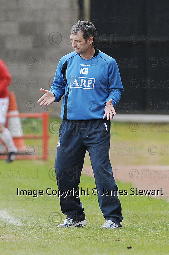 03/05/2008   Copyright Pic: James Stewart.File Name : sct_jspa19_airdrie_v_raith.KENNY BLACK GETS HIS INSTRUCTIONS OVER TO THE PLAYERS.James Stewart Photo Agency 19 Carronlea Drive, Falkirk. FK2 8DN      Vat Reg No. 607 6932 25.Studio      : +44 (0)1324 611191 .Mobile      : +44 (0)7721 416997.E-mail  :  jim@jspa.co.uk.If you require further information then contact Jim Stewart on any of the numbers above........