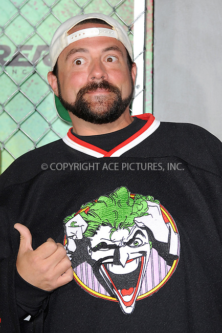 www.acepixs.com<br /> August 1, 2016  New York City<br /> <br /> Kevin Smith attending the world premiere of Warner Bros. Pictures and Atlas Entertainment&rsquo;s 'Suicide Squad' at the Beacon Theatre on August 1, 2016 in New York City.<br /> <br /> <br /> Credit: Kristin Callahan/ACE Pictures<br /> <br /> <br /> Tel: 646 769 0430<br /> Email: info@acepixs.com