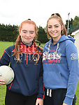Aimee Mynes and Mariana Macari at the Oliver Plunketts Family Fun Day. Photo:Colin Bell/pressphotos.ie