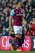 4th November 2017, Villa Park, Birmingham, England; EFL Championship football, Aston Villa versus Sheffield Wednesday; John Terry of Aston Villa comes off injured