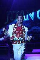El cantante Juan Gabriel , durante su concierto  en la noche de grito de independencia de Mexico llevado a cabo en el  The Axis Powered by Monster at Planet Hollywood, Las Vegas<br /> Nevada. 15 septiembre 2014 <br /> ++++++<br /> El cantante mexicano Juan Gabriel , durante su concierto  en la noche de grito de independencia de Mexico en el  The Axis Powered by Monster at Planet Hollywood, Las Vegas<br /> Nevada. 15 septiembre 2014