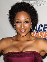 CENTURY CITY, CA, USA - MAY 02: Tamera Mowry at the 21st Annual Race To Erase MS Gala held at the Hyatt Regency Century Plaza on May 2, 2014 in Century City, California, United States. (Photo by Celebrity Monitor)