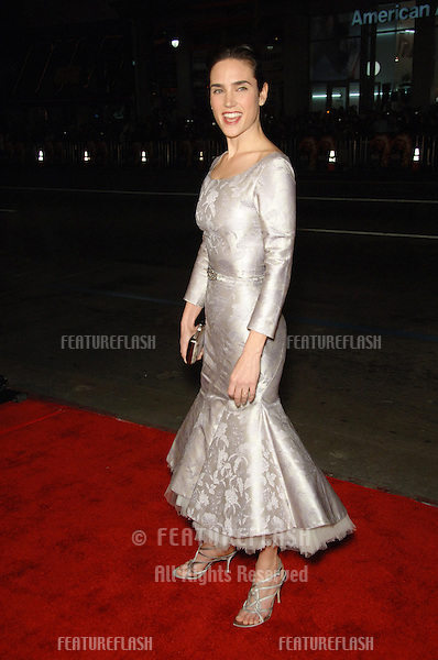 """JENNIFER CONNELLY at the Los Angeles premiere of her new movie """"Blood Diamond"""" at Grauman's Chinese Theatre, Hollywood..December 6, 2006  Los Angeles, CA.Picture: Paul Smith / Featureflash"""