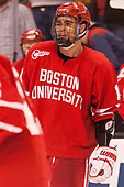 Jordan Greenway (BU - 18) - The Boston University Terriers defeated the Boston College Eagles 3-1 in their opening Beanpot game on Monday, February 6, 2017, at TD Garden in Boston, Massachusetts.